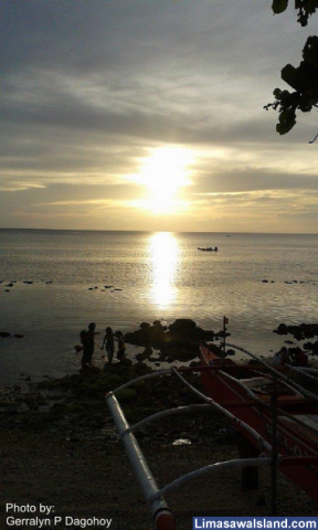 Summer Sunset on Limasawa Island