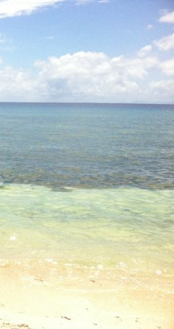 Clear Water Around Limasawa Island